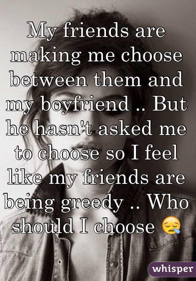 choose boyfriend
