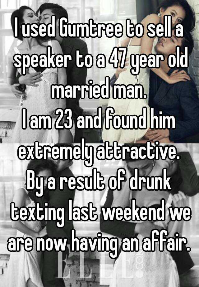 Texting affair with married man