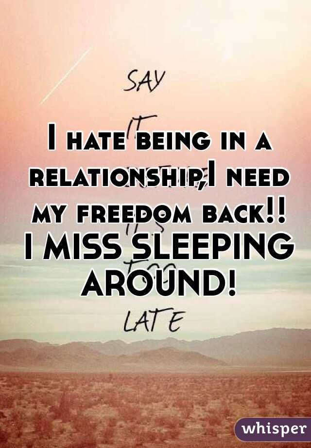 Freedom in relationships