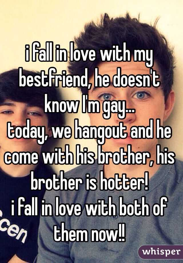 in love with best friend gay