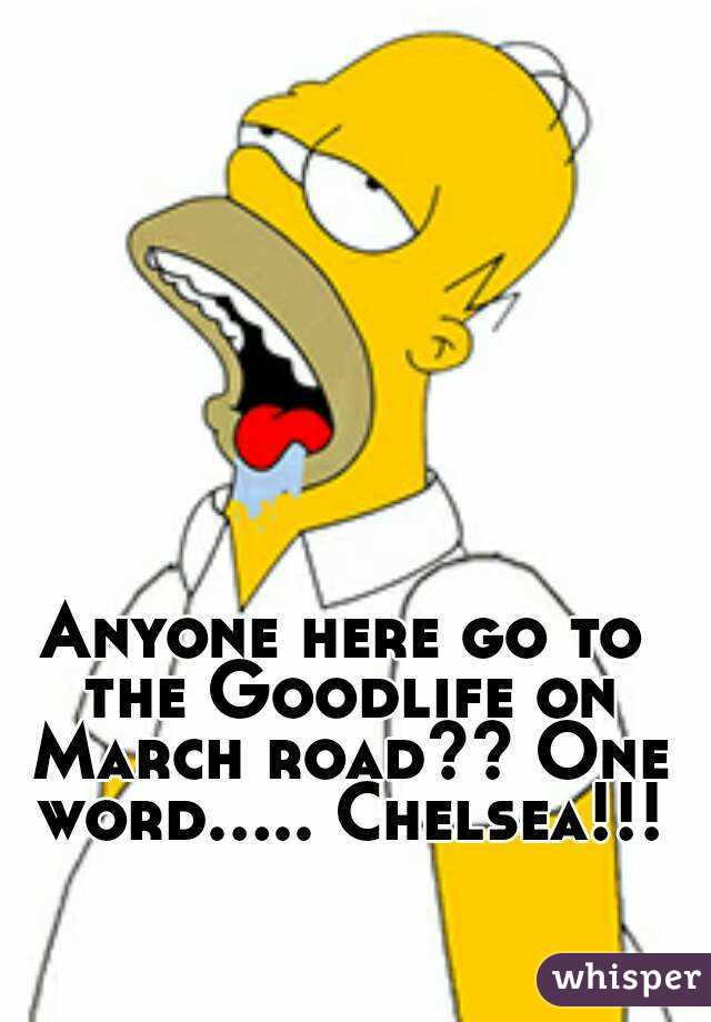 Anyone here go to the Goodlife on March road?? One word..... Chelsea!!!