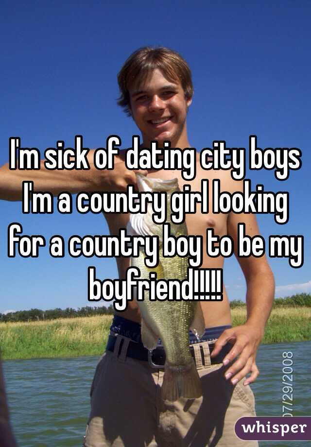 country guy dating