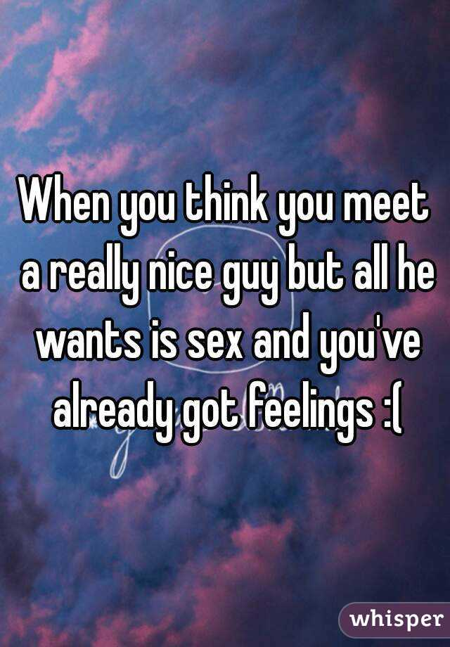 What if a man wants sex all the time