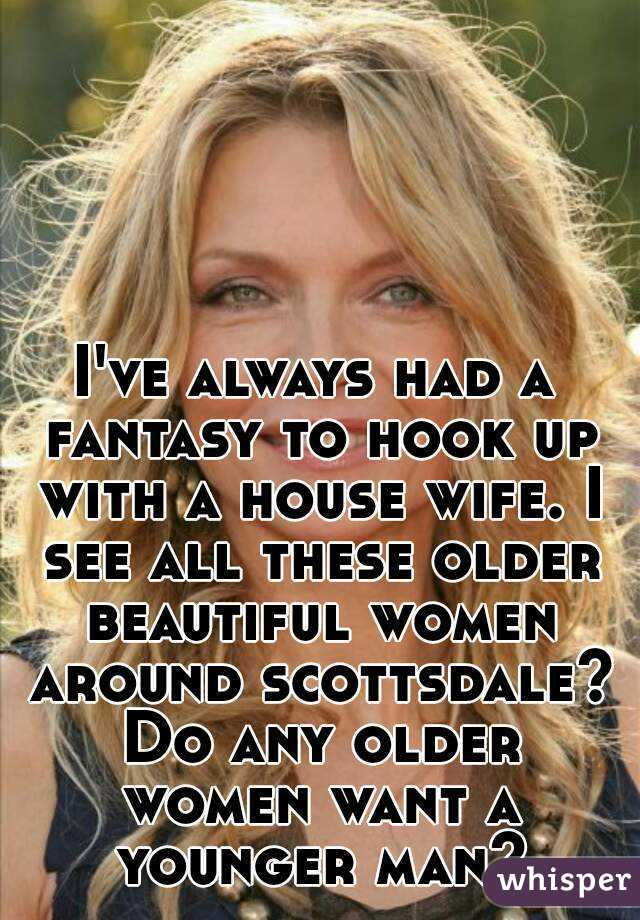 Perks of hookup an older woman