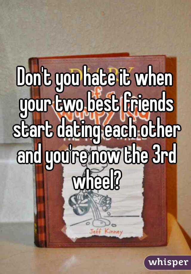 Two best friends dating each other