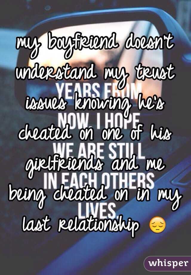 trust issues boyfriend