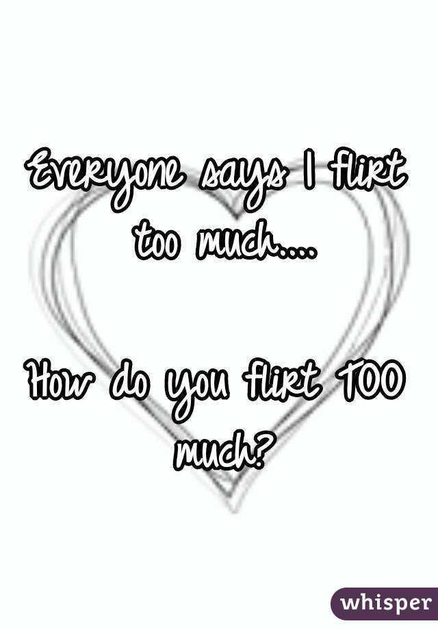 do i flirt