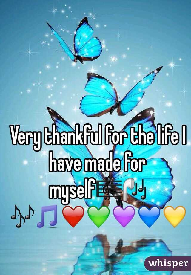 Very thankful for the life I have made for myself🎼🎧🎶🎵❤️💚💜💙💛