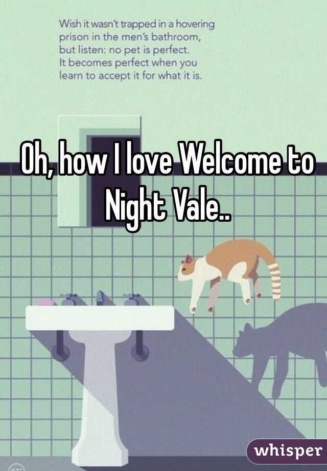 Oh, how I love Welcome to Night Vale..