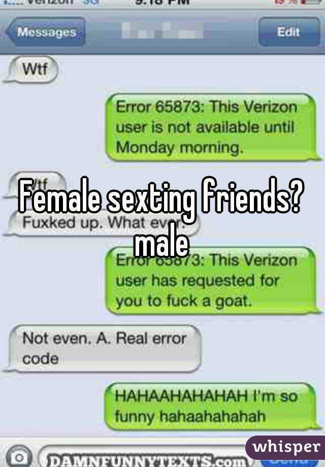 Sexting friends