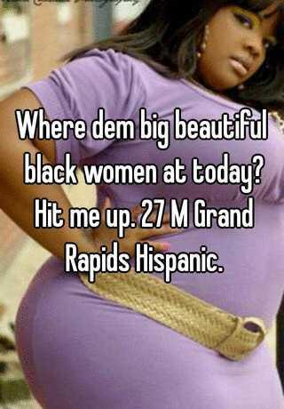 big and beautiful black women