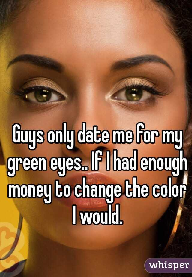 Eye color dating