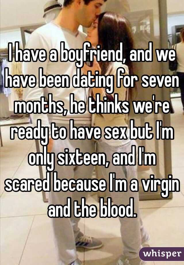 dating for seven months