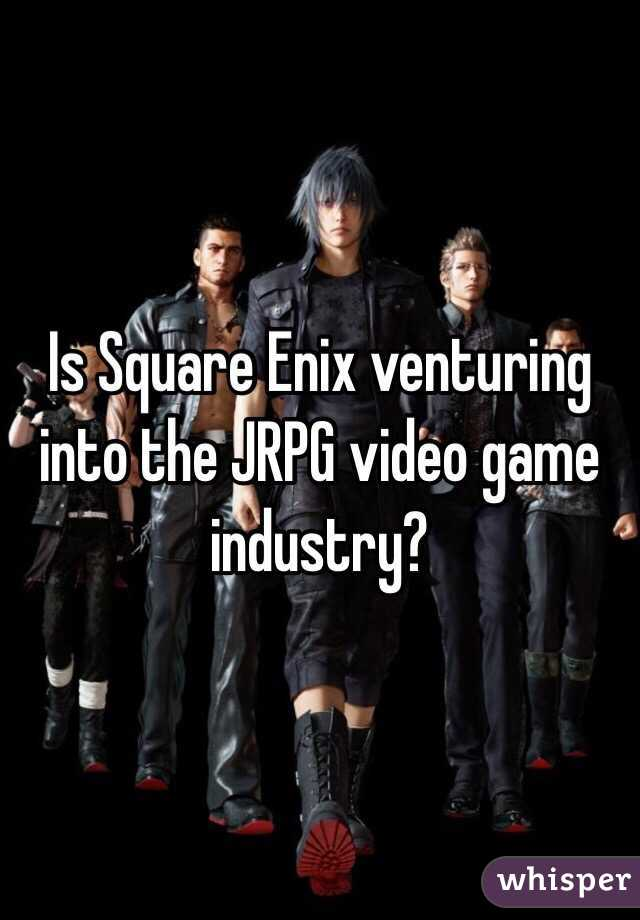 Is Square Enix venturing into the JRPG video game industry?