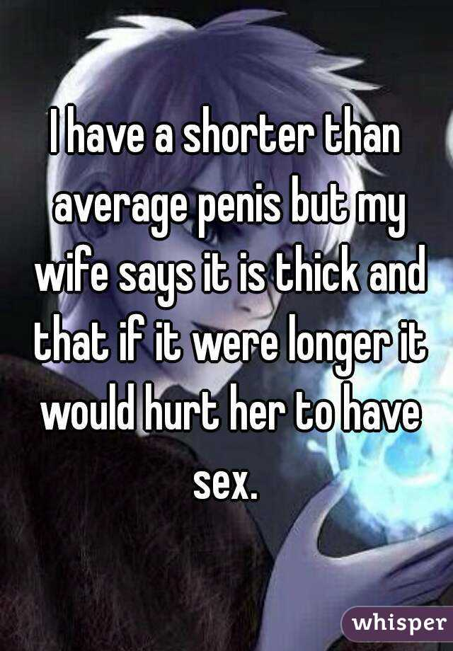 Hurts to have sex long penis