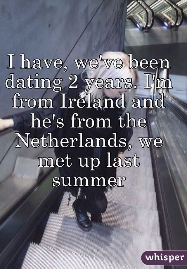 weve been dating for two years