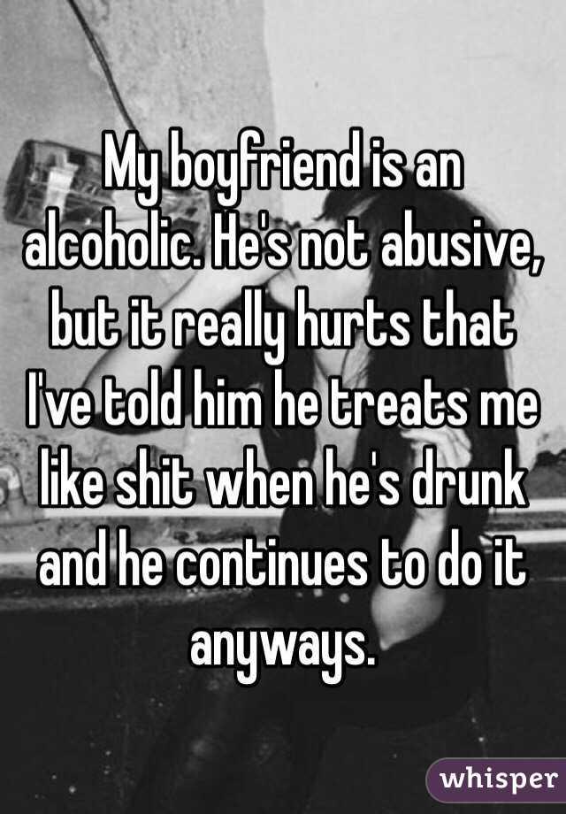 drunk my hurt boyfriend? and Got