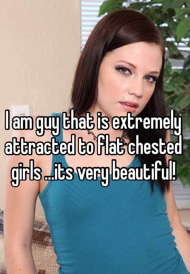 girls Beautiful flat chested