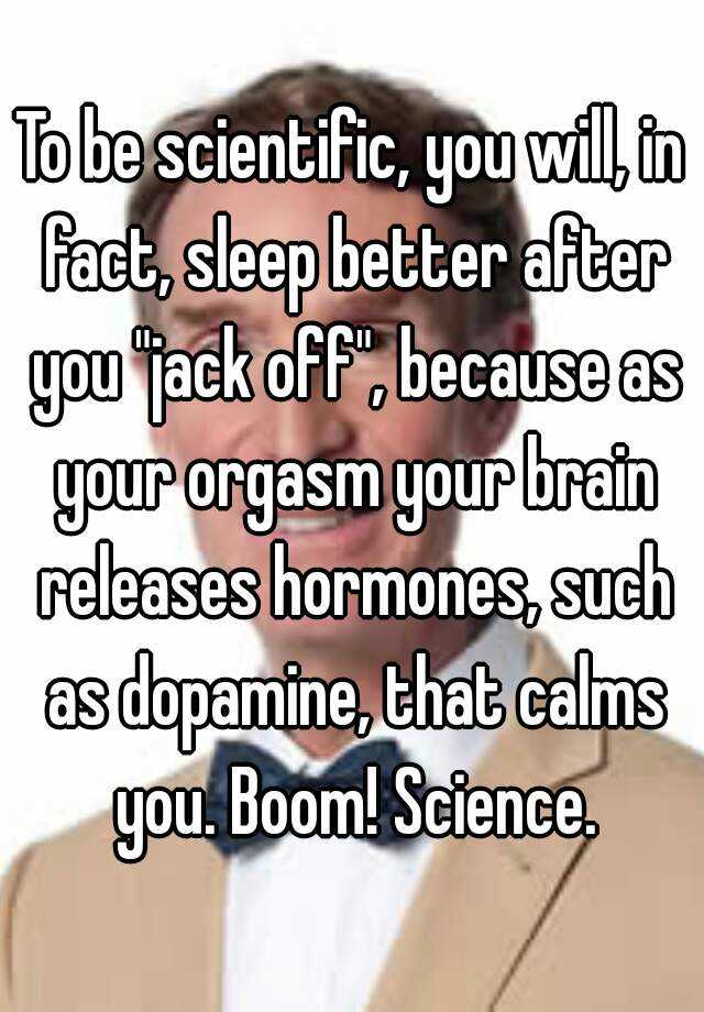 orgasm in your sleep