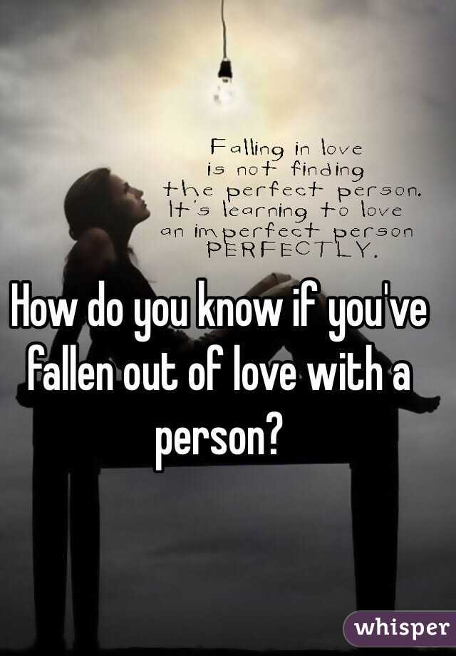 what to do when you are falling out of love