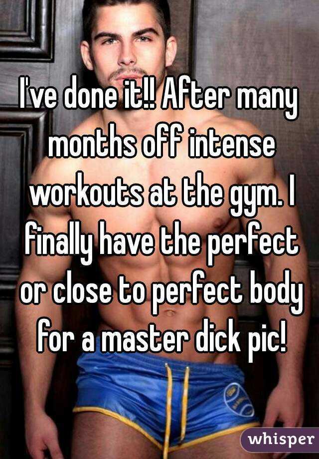 gym dick