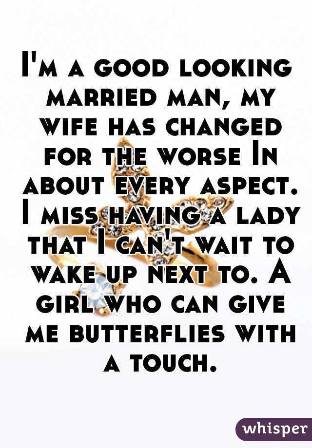 Missing my married man