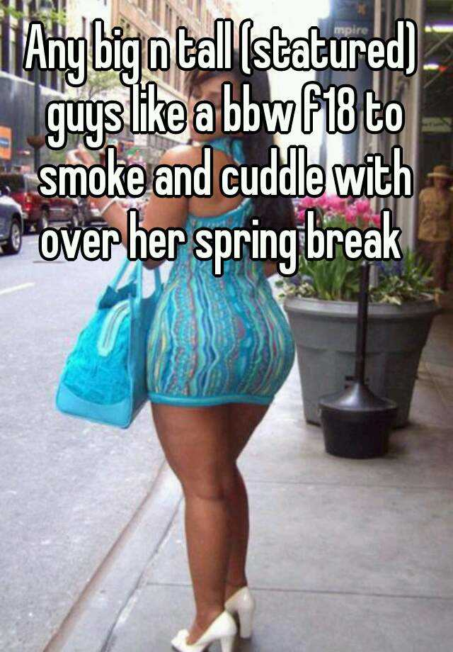 bbw spring break