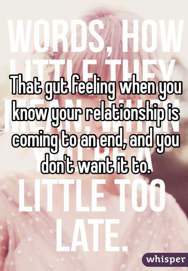 Knowing When To End A Hookup Relationship