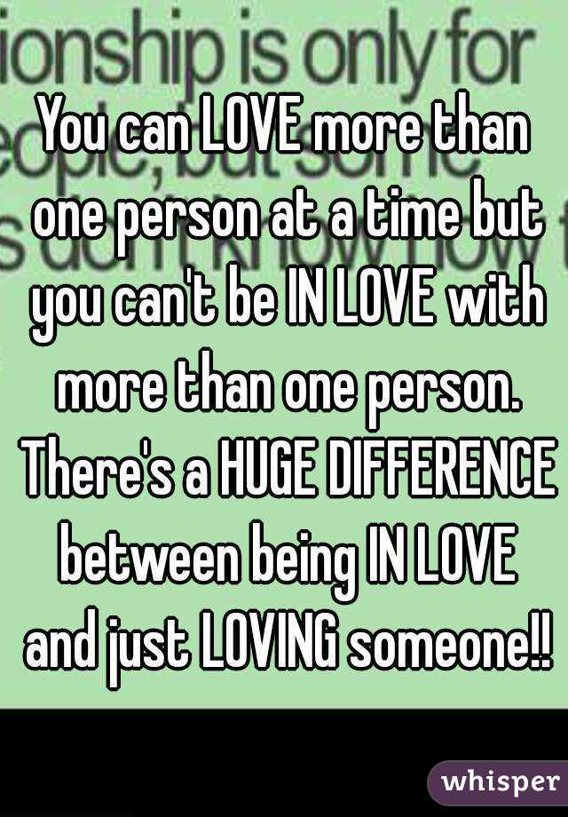 What Is It To Be In Love With Someone