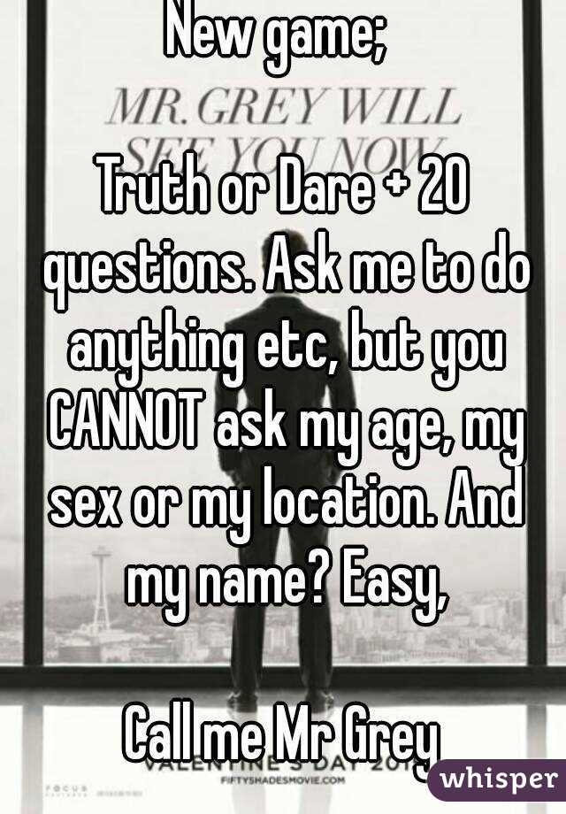 Sex Game Questions To Ask