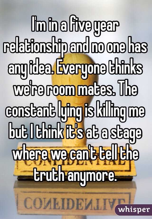 five year relationship