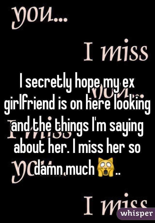 Ex Miss Why Girlfriend Do My I