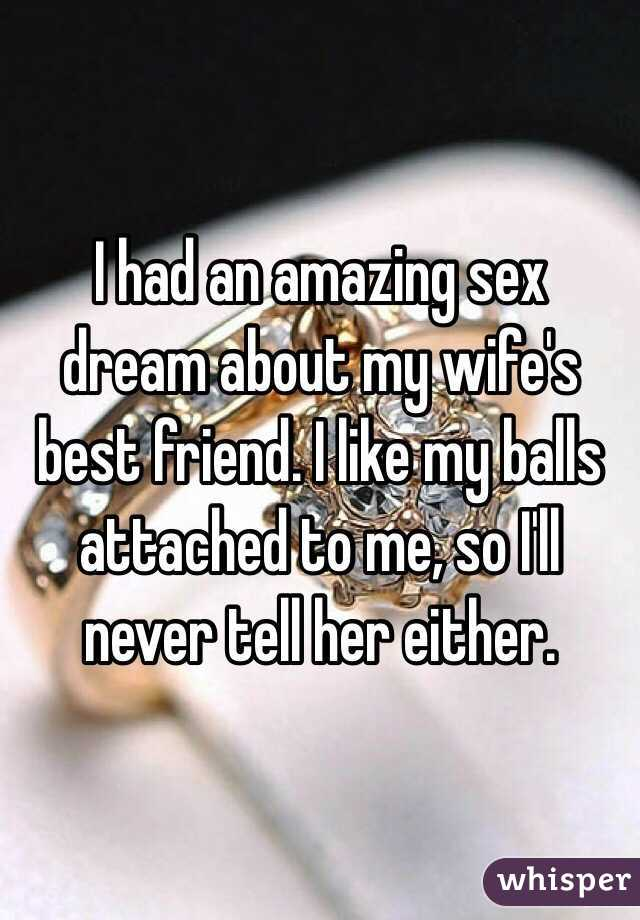 Dreams of sex with woman i like