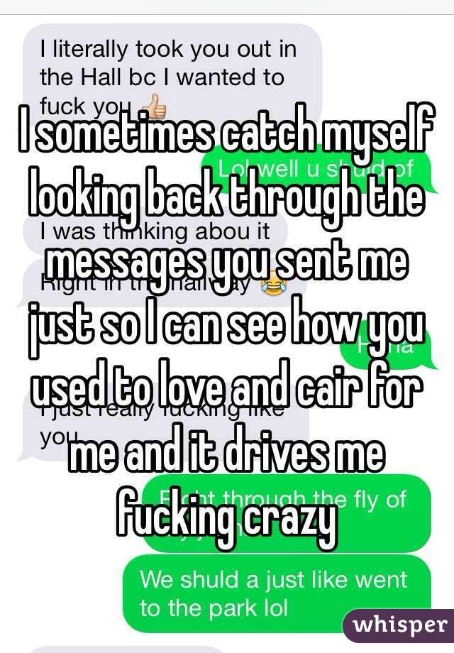 Love You Used Like Crazy Me To