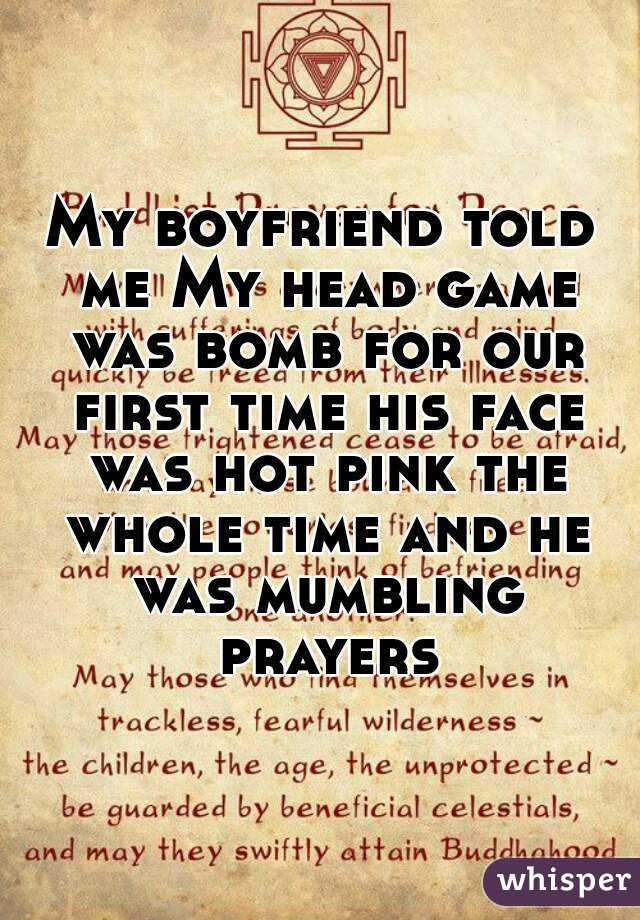 Prayer for me and my boyfriend