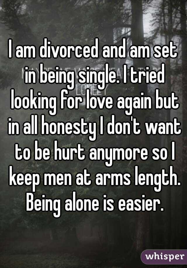 I am single looking for love