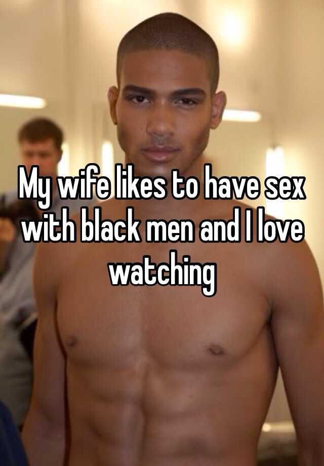 Wife loves black pics