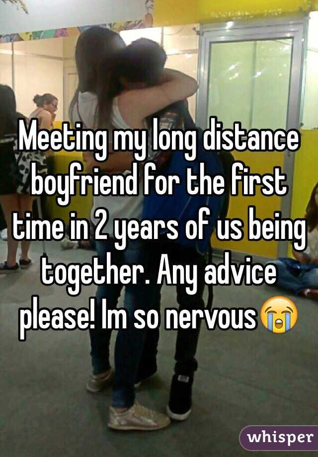 Meeting my long distance boyfriend for the first time in 2