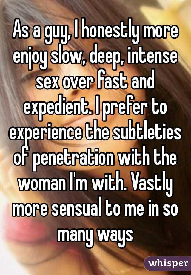 Do Woman Enjoy Penetration