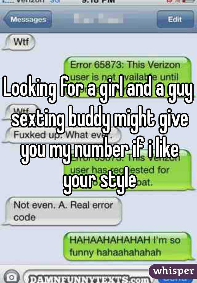 guy sexting girl