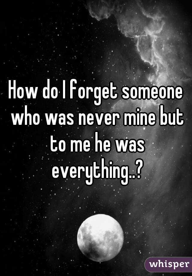 forget someone? do you How about
