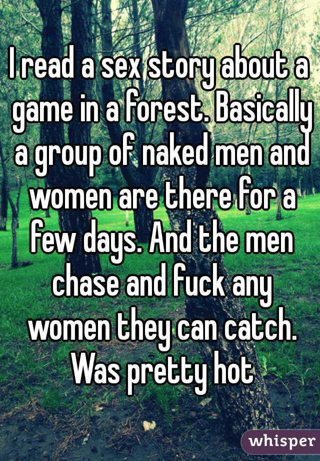 Sex stories sex in a forest