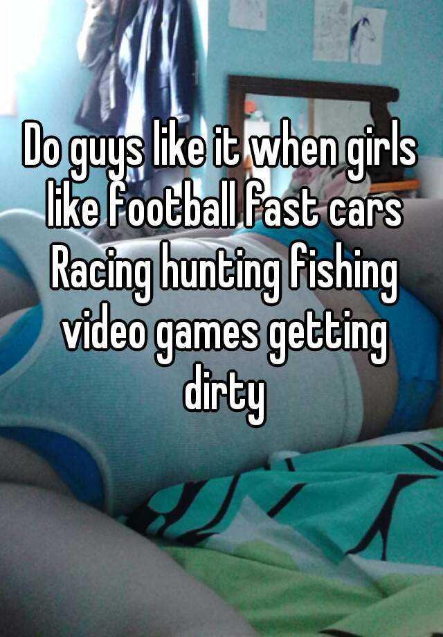 why do guys like fishing
