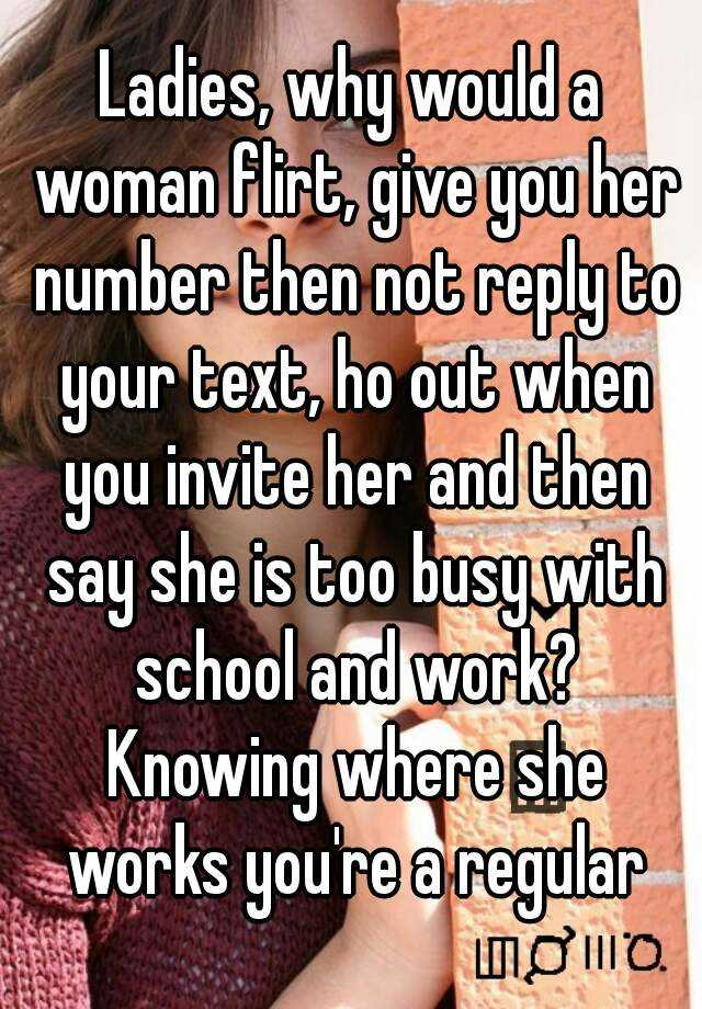what to do after a girl gives you her number