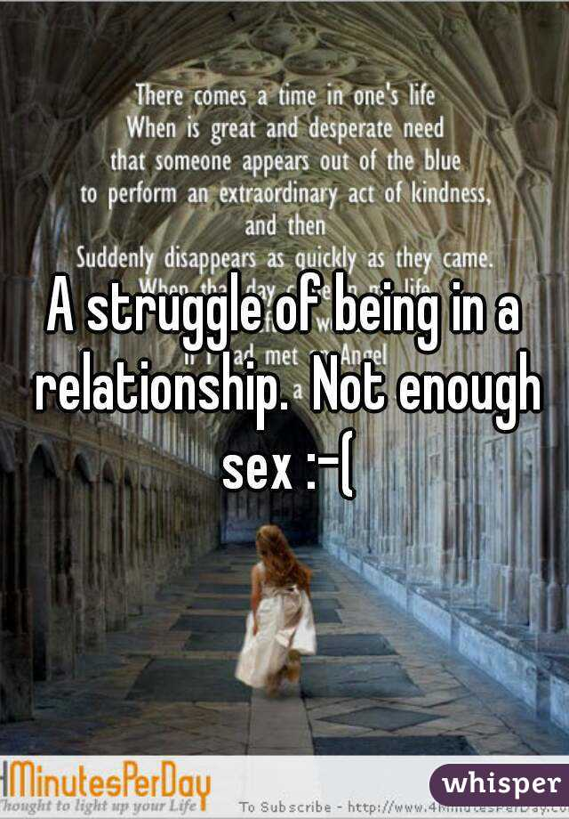Not enough sex in relationship photos 56