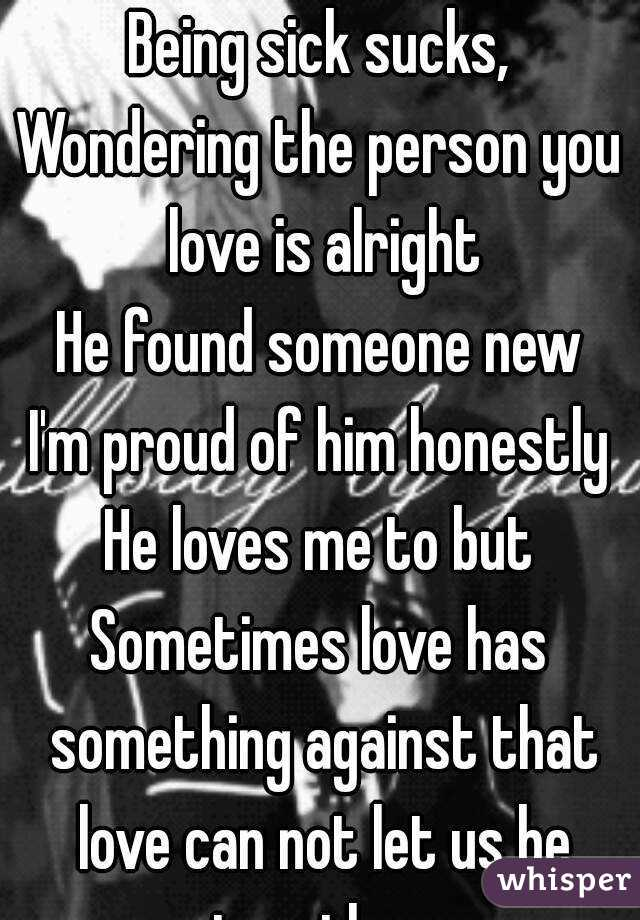 you found someone new