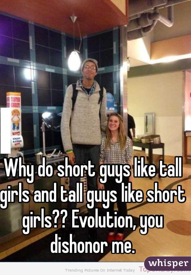 Can short girl hookup tall guy