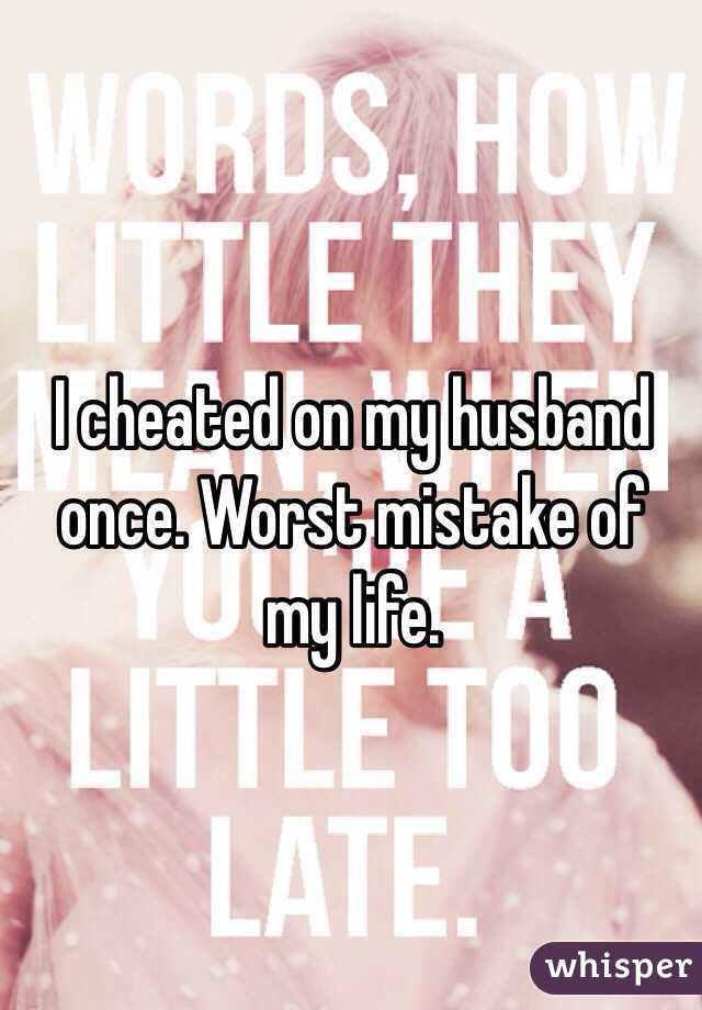 I cheated on my husband and liked it