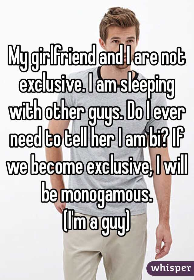 how to become exclusive with a guy