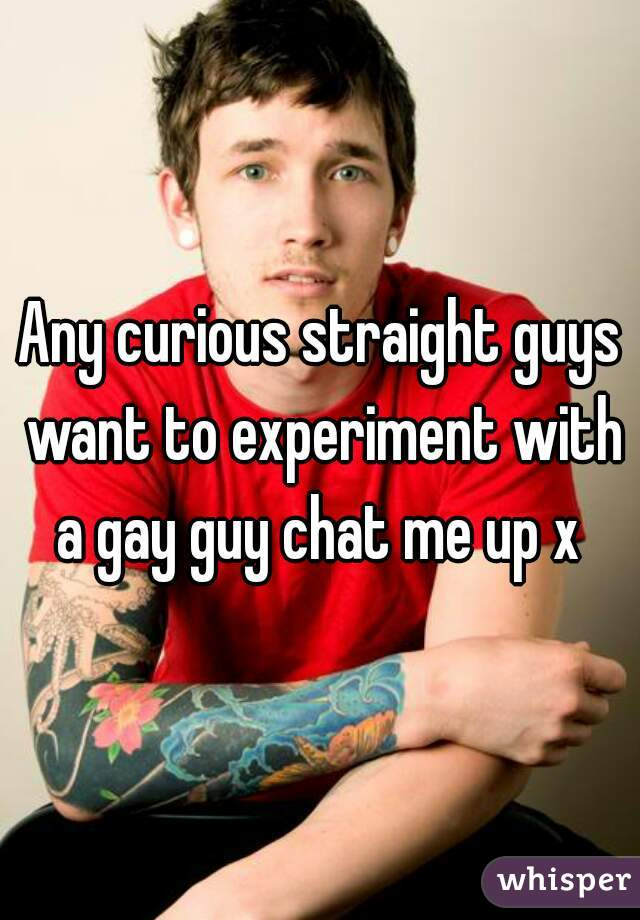 curious gay chat